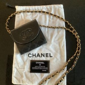 Chanel mini purse. Quilted timeless .